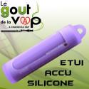 Etui en silicone PROTECTION ACCU 18650 - LE GOUT DE LA VAP