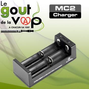 CHARGEUR USB DOUBLE ACCUS XTAR MC2 - LE GOUT DE LA VAP