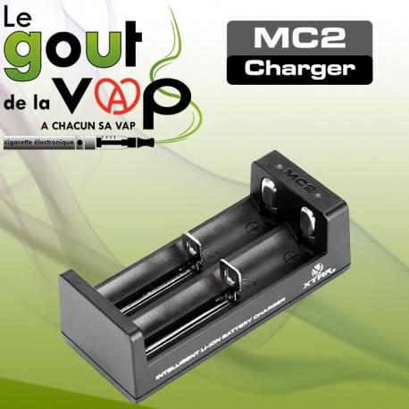 CHARGEUR USB DOUBLE ACCUS XTAR MC2