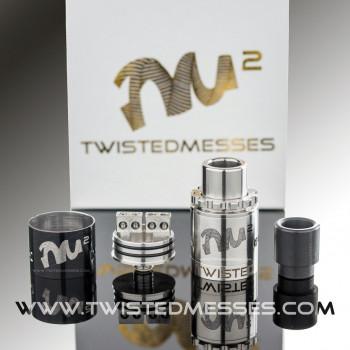 Twisted Messes RDA² Edition Gold / Noir et Acier / Noir et Bleu - LE GOUT DE LA VAP