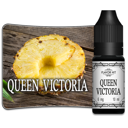 QUEEN VICTORIA - 10ML - ANANAS DE FLAVOR HIT