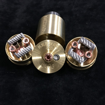 KENNEDY 25 RDA 2 POST ATOMISEUR RECONSTRUCTIBLE TYPE DRIPPER
