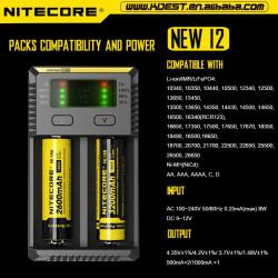 Chargeur Nitecore i2 - V2