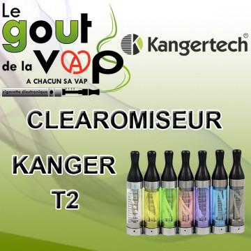 CLEAROMISEUR KANGER T2 PAR KANGERTECH - LE GOUT DE LA VAP