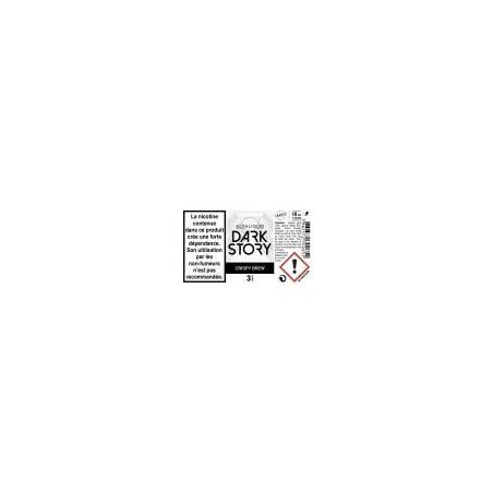 CRISPY BREW 10ML E-LIQUIDE DARK STORY PAR ALFALIQUID
