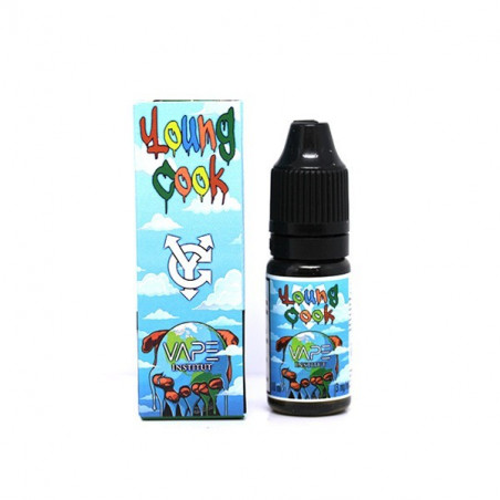 YOUNG COOK 10ML Nicotine Booster en 20MG - LE GOUT DE LA VAP