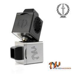 Aria x Twisted Messes Cubed RDA TM3 COULEUR NOIR- LE GOUT DE LA VAP