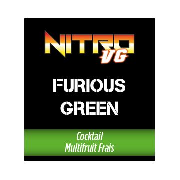 REFILL - NITRO VG - FURIOUS GREEN