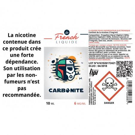 CARBONITE - LE FRENCH LIQUIDE - LE GOUT DE LA VAP