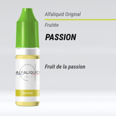 PASSION ALFALIQUID - LE GOUT DE LA VAP