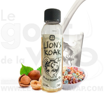 LION S ROAR OLD SCHOOL E-LIQUIDE PAR VAPE INSTITUT