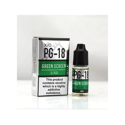 GREEN SCREEN E-LIQUIDE 20ML BY X2O