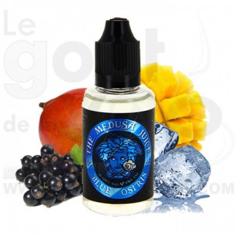 Blue Osiris e-liquide 50ml single Booste en arome - Medusa France