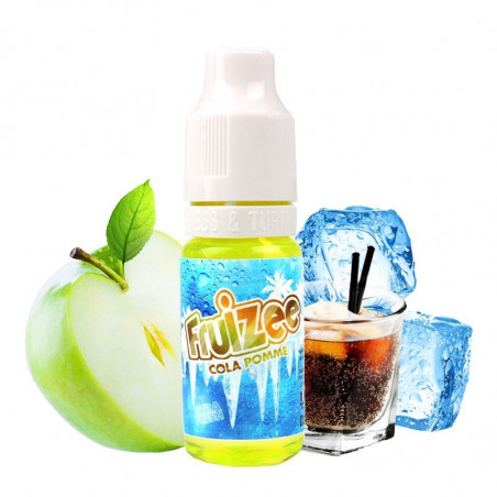 Cola Pomme Booster 18 mg Fruizee - LE GOUT DE LA VAP