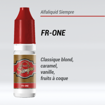 FR-ONE E-LIQUIDE SIEMPRE - ALFALIQUID 50/50 - LE GOUT DE LA VAP