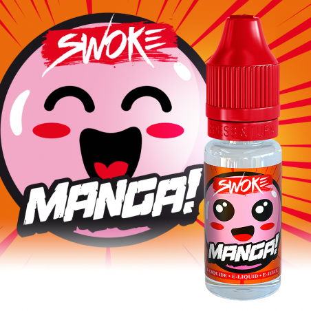 MANGA E-LIQUIDE 10ML SWOKE - LE GOUT DE LA VAP