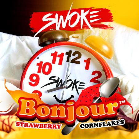 BONJOUR E-LIQUIDE 10ML SWOKE - LE GOUT DE LA VAP