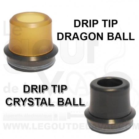 DRIP TIP CRYSTAL BALL FUMYTECH - LE GOUT DE LA VAP
