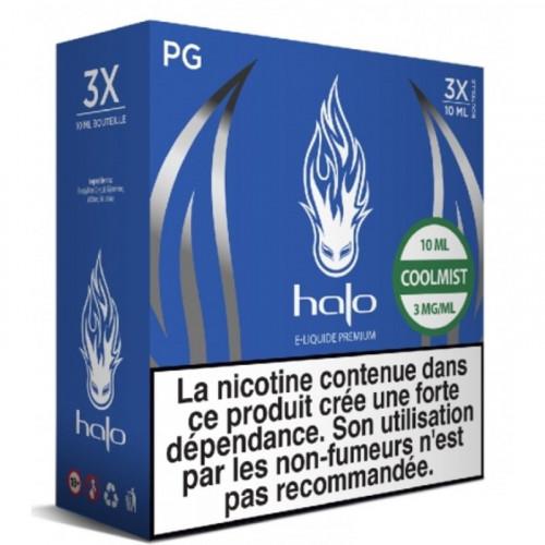 COOLMIST HALO 3X10ML E-LIQUIDE