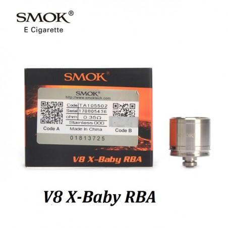 BASE Plateau RBA pour TFV8 X BABY SMOK - LE GOUT DE LA VAP