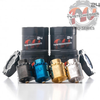TWISTED MESSES TM24 PRO-SERIES RDA - LE GOUT DE LA VAP