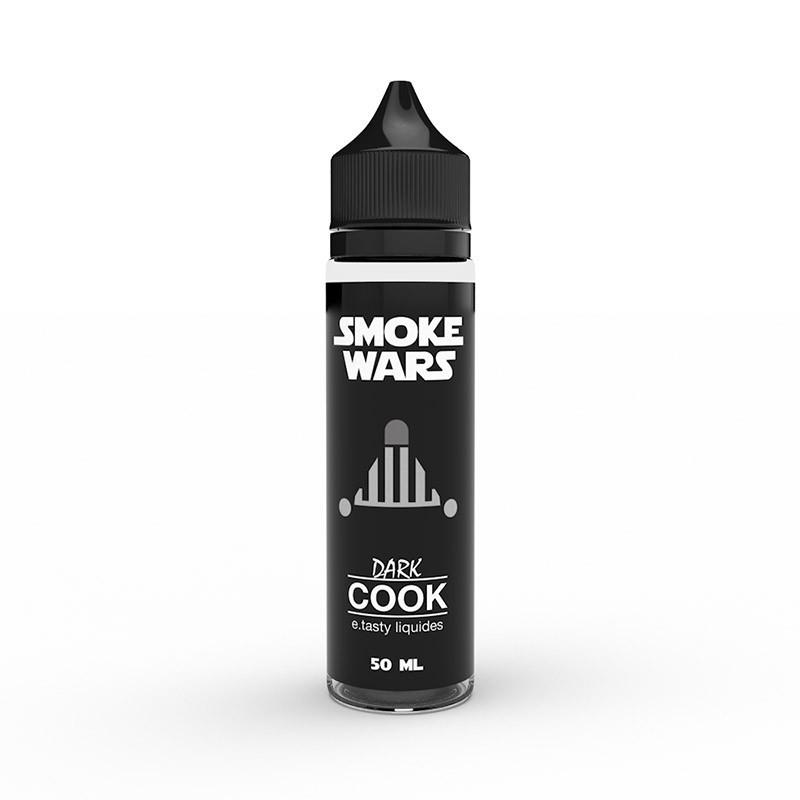 E-LIQUIDE DARK COOK 50ML - SMOKE WARS - E.TASTY